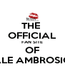 THE  OFFICIAL FAN SITE OF ALE AMBROSIO - Personalised Poster A4 size