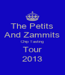 The Petits And Zammits Chip Tasting Tour 2013 - Personalised Poster A4 size