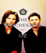THE WINCHESTERS OF OZ  - Personalised Poster A4 size