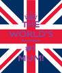 THE WORLD'S NUMBER #1 MUM! - Personalised Poster A4 size