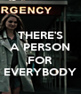 THERE'S A PERSON  FOR EVERYBODY - Personalised Poster A4 size