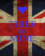 THIEF KID MINE  - Personalised Poster A4 size