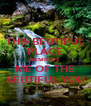 THIS BEUTIFUL PLACE REMINDS ME OF THE BEUTIFUL YOU - Personalised Poster A4 size