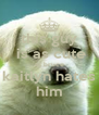 this guy  is as cute as bruce kaitlyn hates him - Personalised Poster A4 size