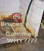 this is Bruces room wow no Comment WHY???? - Personalised Poster A4 size