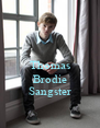Thomas  Brodie Sangster - Personalised Poster A4 size
