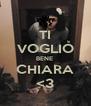 TI VOGLIO BENE  CHIARA <3 - Personalised Poster A4 size