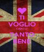 TI VOGLIO TANTO TANTO BENE - Personalised Poster A4 size
