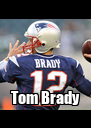 Tom Brady - Personalised Poster A4 size