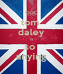 tom  daley is so  anying - Personalised Poster A4 size