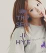 TRP SEO  JI HYE - Personalised Poster A4 size