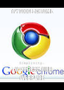 TRY GOOGLE CHROME TO ACCESS OUR WEBPAGE - Personalised Poster A4 size