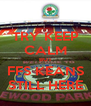 TRY KEEP CALM BUT FFS KEANS STILL HERE - Personalised Poster A4 size