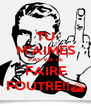 TU M'AIMES PAS VA TE FAIRE FOUTRE!!§ - Personalised Poster A4 size