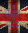 TUNAS BANGSA AND PUNK ROCK M3N - Personalised Poster A4 size