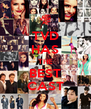 TVD HAS THE BEST CAST - Personalised Poster A4 size