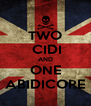TWO  CIDI AND ONE ABIDICORE - Personalised Poster A4 size