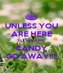 UNLESS YOU ARE HERE TO GIVE ME CANDY GO AWAY!!!! - Personalised Poster A4 size
