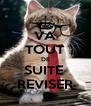 VA TOUT DE SUITE  REVISER - Personalised Poster A4 size