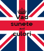Vad sunete aud culori  - Personalised Poster A4 size