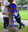 Vale e DANIEL for ever - Personalised Poster A4 size