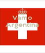 Vamo Argentina    - Personalised Poster A4 size
