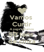 Vamos  Curtir A page odiamos 50 tons  de cinza - Personalised Poster A4 size