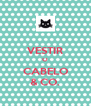VESTIR O CABELO & CO. - Personalised Poster A4 size