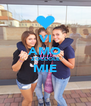 VI AMO ZOCCOLE MIE  - Personalised Poster A4 size