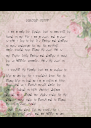 VIRGIN SISSY   i am a male by gender, but no man will be found in me! For i am a sissy, - Personalised Poster A4 size