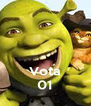 Vota 01 - Personalised Poster A4 size