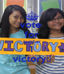vote  for number 1 victory♚ - Personalised Poster A4 size