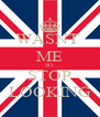 WASNT  ME SO STOP LOOKING - Personalised Poster A4 size
