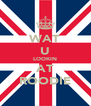 WAT U LOOKIN AT ROODIE - Personalised Poster A4 size