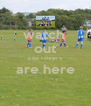 watch  out coz rovers are here  - Personalised Poster A4 size