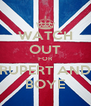 WATCH OUT FOR RUPERT AND BOYE - Personalised Poster A4 size