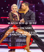 """WATCH SCD @ 19:30 FRIDAY ON SABC 3 VOTE SCD8 TO 33123 """"4"""" KARLIEN AND DEVON - Personalised Poster A4 size"""