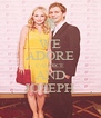 WE ADORE CANDICE AND JOSEPH - Personalised Poster A4 size