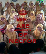 WE  ARE MEMBER'S OF NECFOR - Personalised Poster A4 size