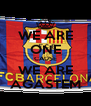 WE ARE ONE CAUSE WE ARE AGASTEM - Personalised Poster A4 size