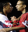 We Are  Two Cunts - Personalised Poster A4 size