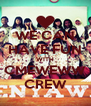 WE CAN HAVE FUN WITH CMEWEWW CREW - Personalised Poster A4 size