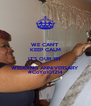 WE CAN'T  KEEP CALM IT'S OUR 1ST WEDDING ANNIVERSARY #CoYo101214 - Personalised Poster A4 size