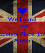 We Found Love In A Hopeless Place. Love Aliyah - Personalised Poster A4 size