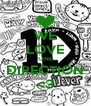 WE LOVE ONE DIRECTION <3 - Personalised Poster A4 size