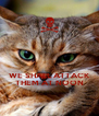 WE SHALL ATTACK THEM AT NOON - Personalised Poster A4 size