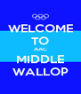 WELCOME TO AAC MIDDLE WALLOP - Personalised Poster A4 size