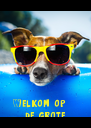 Welkom op      de grote   H -party.....!   - Personalised Poster A4 size