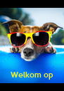 """Welkom op  de """"H"""" party !   - Personalised Poster A4 size"""