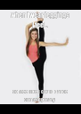 when I wear leggings I feel.. so free like I could dance contemporary  - Personalised Poster A4 size